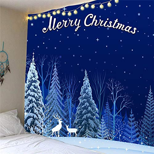 N / A Christmas Tree Tapestry Decor Wall Hanging Bedroom Han