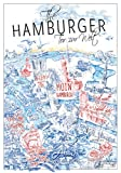 Hamburg Poster The Hamburger - Städteposter