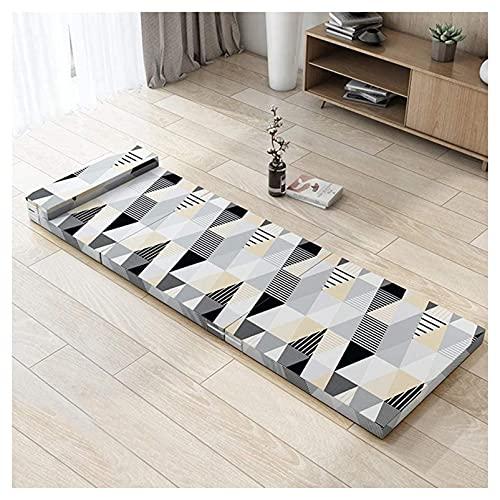 VIIPOOColchón Plegable, Colchón De Futón Japonés Para Colchón Adulto Colchón Plegable Colchón Para Casas Para Acampar,B-70 * 200CM