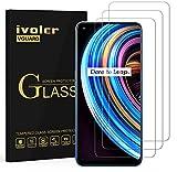 ivoler 3 Unidades Protector de Pantalla para OPPO Realme 7 Pro/Realme X7 / Realme X7 Pro, Cristal Vidrio Templado Premium para OPPO Realme 7 Pro/Realme X7 / Realme X7 Pro