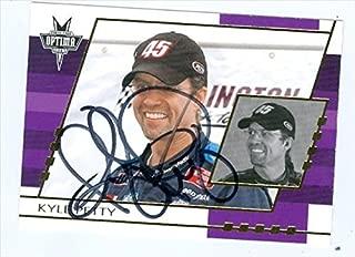 Autograph Warehouse 41328 Kyle Petty Autographed Trading Card Auto Racing 2003 Press Pass Optima No. G20