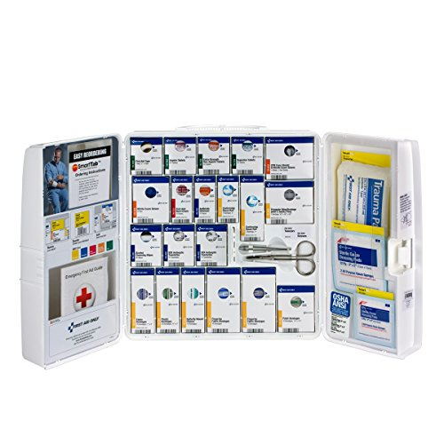 First Aid Only 50 Person Large Plastic SmartCompliance...