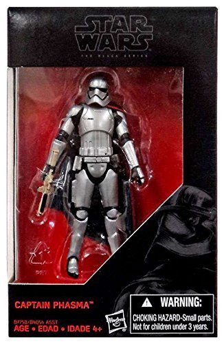 Star Wars Star Wars:The Force Awakens, The Black Series, Captain Phasma Exclusive Action Figure, 3.75 Inches