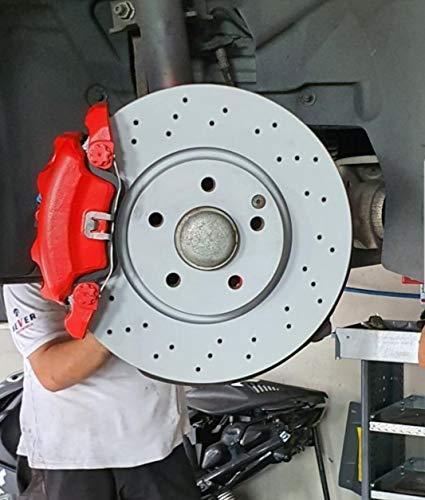 BREMSSATTELFARBE 400 ml ROT - Farbe für Bremssättel und -trommeln 300°C