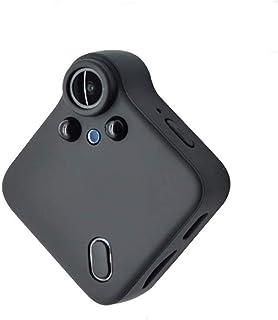 Mopoq IP Remote Surveillance Camera (HD Night Vision, Wifi, Mini Camera), Black Color