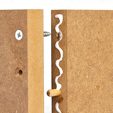 12mm MDF Platte 100x100 cm roh