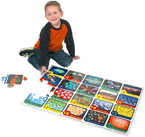 Extra grand Numbers Floor Puzzle