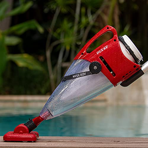 POOL BLASTER Water Tech Pulse Handheld Rechargeable Pool Vacuum, Cordless Design