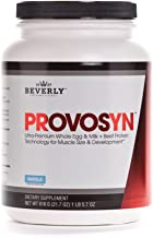 PROVOSYN. The Original Ultra-Premium Whole Egg, Milk (Casein + whey) and Beef Protein Powder for Faster Muscle Building + Recovery. Perfect for Hard gainers. Delicious Vanilla Flavor, 616 g