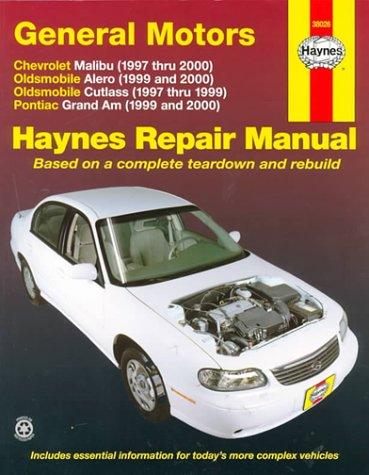 GM: Malibu, Alero, Cutlass & Grand Am, 97'00 (Haynes Automotive Repair Manual Series)