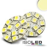 LED T10 Leuchtmittel, 10-30V/DC, 10SMD, 2 Watt, warmweiss, Socke