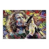 Soundgarden Chris Cornell Kunstgemälde auf Leinwand,