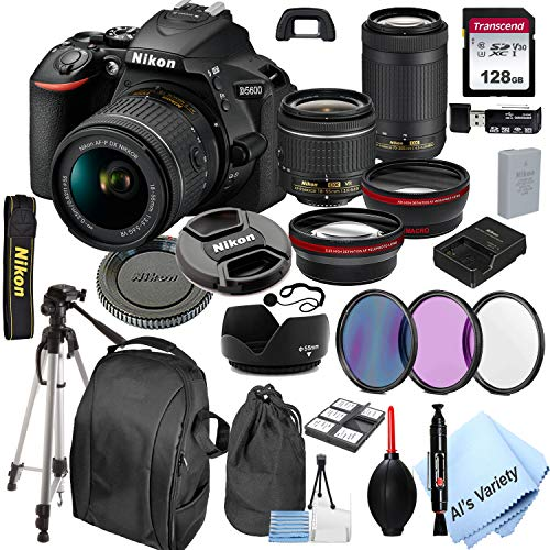 Nikon D5600 DSLR Camera with 18-55mm VR and...