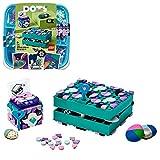 LEGO 41925 DOTS Cajas Secretas Joyero Infantil Kit de Manualidades para Niños y Niñas de +6 años Decoración de Habitación DIY