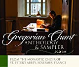 Gregorian Chant - Anthology & Sampler [Choir of the Monks of the Abbey St. Peter; Solesmes; Dom Jean Claire] [Paraclete Recordings: GDCD 9545]