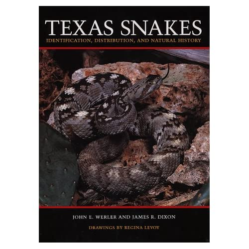 Texas Snakes: Identification, Distribution, and Natural History
