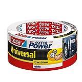 Cinta adhesiva americana tesa Extra Power Universal (25 m x 50 mm), color blanco