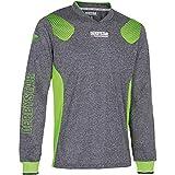 Derbystar Defense Pro - Camiseta de Portero Unisex, Color Gris, Verde, M