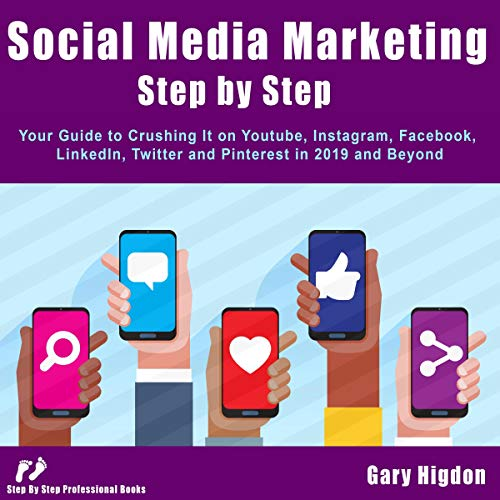 Social Media Marketing Step-by-Step audiobook cover art