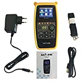 SATLINK WS-6933 DVB-S2 FTA C&KU Band Satellite Meter Finder with Compass