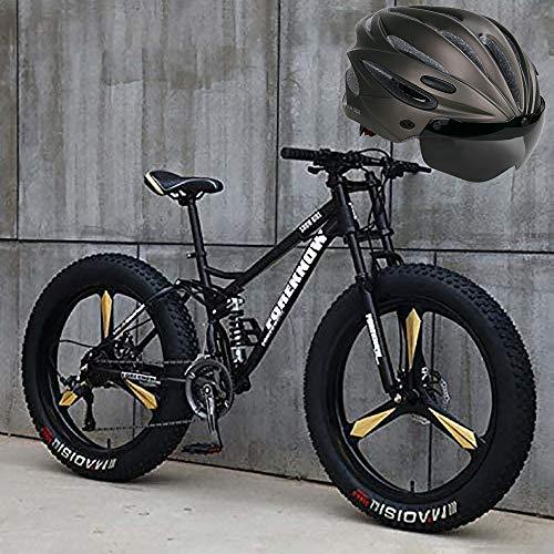 Bicicleta De Montaña De 26 Pulgadas, Cambio De Marchas Shimano 7-27, Suspensión...