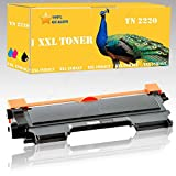 1x Toner Compatible con Brother TN2220Serie de Brother DCP 7055/7055W/7057/7060D/7060N/7065DN/7070DW Disa