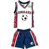 A2Z 4 Kids Bambini Ragazzi FIFA World Cup England Calcio - England Football Set 18-24