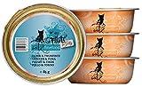 Catz finefood fillets Número 413–Gallina & Atún en Jelly, 12Unidades (12x 85g)