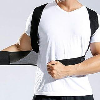 Fine Premium Adjustable Upper Back Brace Posture Corrector and Clavicle Support Brace for Men and Women, Improve Bad Posture, Shoulder Alignment, Pain Relief