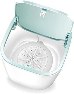 Ruluti Mobil automatisk tvättmaskin USB-laddning mini rengöring maskin kläder bricka för makeup borste byxor hem resa camping