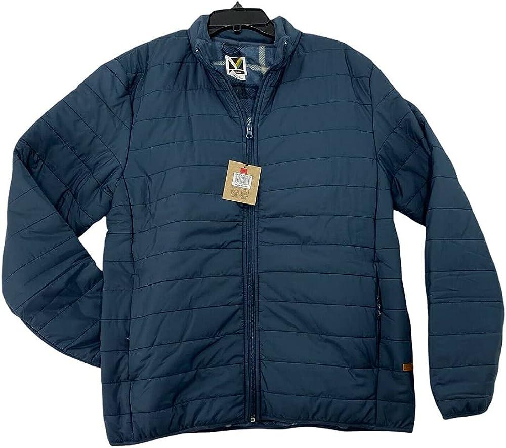 Voyager Men's Polar Fleece Lined Puffer Jacket
