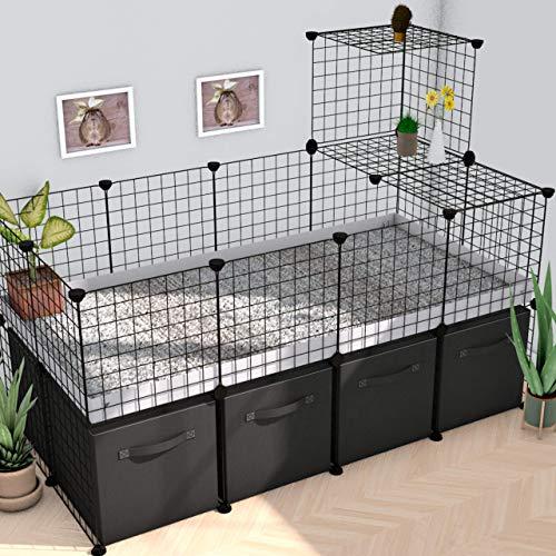 Kavee C&C cage Guinea Pig cage Hedgehog cage Tortoise Enclosure 4x2 Loft