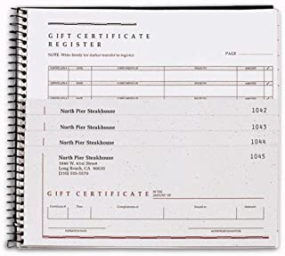 Personalized Gift Certificates Forms