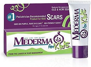 2-Pack Mederma Kid-Friendly Scent Kids Skin Care for Scars 20 Grams