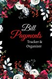 Bill Payments Tracker And Organizer: Vintage Floral Theme. Personal & Household Bill Paying Organizer with Due Date, Check box for Paid Item. (Bill Tracker Diary Journal)