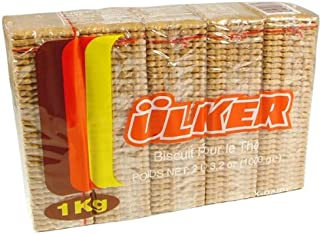 Ulker Tea Biscuits, 2.2lb (1000g) (2.2 lbs)