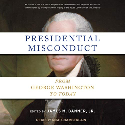 Presidential Misconduct audiobook cover art