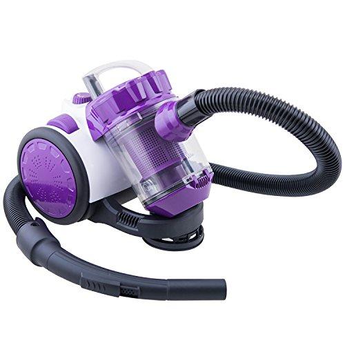 Winkel WS10 beutelloser Staubsauger / Polyzyklon-Staubsauger / 1,5 L Staubfangbehälter / 1000 W / violett