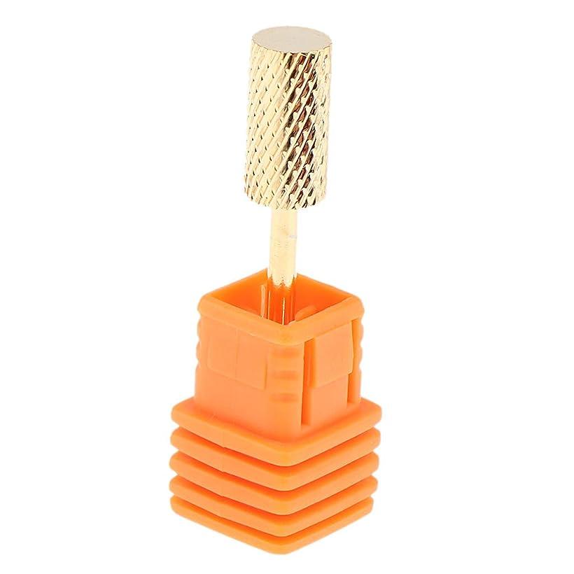 紳士アラーム過度のSharplace 電動ドリルビット ネイルアート ドリルビット ネイルチップ 研削ヘッド ネイルサロン 全6スタイル - C