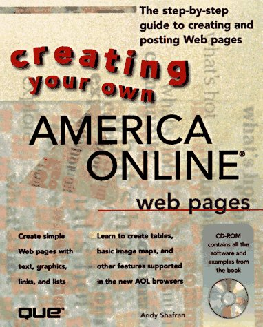 Creating Your Own Aol Web Pagesの詳細を見る