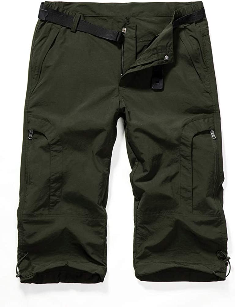 Aiegernle Women's Quick Dry Cargo Shorts,Outdoor Casual Straight
