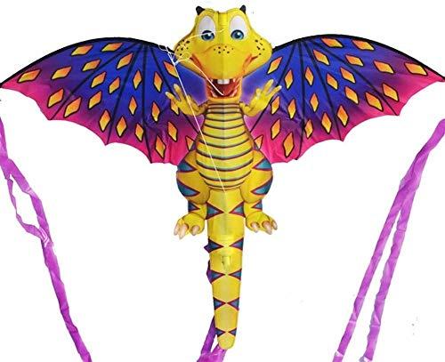 Stark und robust Drachen, Kinder Kite Schöne Drachen for Kinder einfach zu fliegen for Strand Außen 15 m Schönheit Schlange Drachen Tough Skelett (Farbe: 1 PC) (Color : Mermaid with Line)