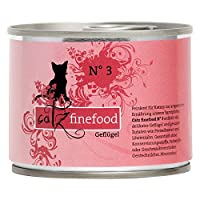 Your cat's well-being and good health depends on the food it eats catz finefood Poultry Can Saver Pack 12 x 200g is a natural, species appropriate and balanced cat food. Each recipe is inspired by nature and is made with all the essential nutrients a...