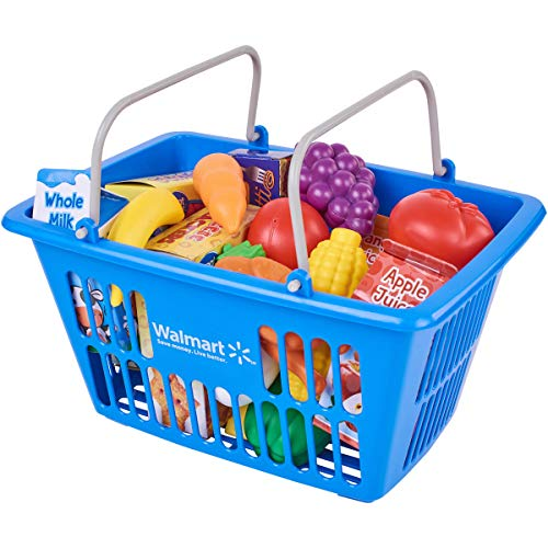 Spark Create Imagine - Shopping Basket with Food Play Set 24-Piece