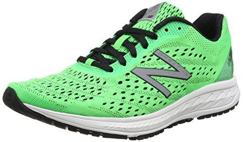 New Balance Vazee Breathe V2, Zapatillas de Running Para Hombre, Verde (Green/White), 43 EU