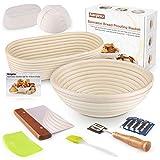 Bread Proofing Basket - KAQINU 10 Inch Oval...