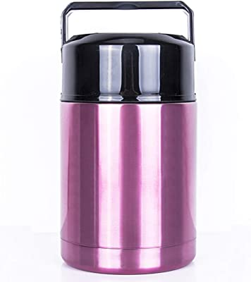 Thermos Vacuum Insulated Food Jar Container Rosy