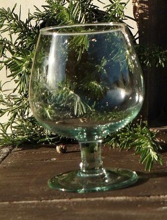 Cognac Koniak eco gerecycled glas napoleon gerecycled glas La Mediterranea zwenker likeur duurzaam 500 ml