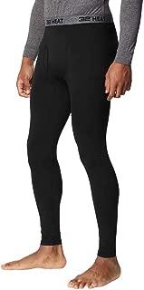 Mens 2 Pack Heat Performance Thermal Baselayer Pant Leggings