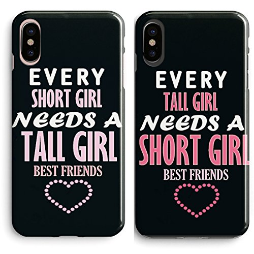 iPhone X,iPhone Xs Case BFF Case,Cute Funny Best Friends Forever BFF Sister...